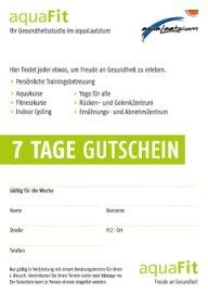 Fitness Gutschein aquaFit Fitnessstudio Hannover Download-Icon