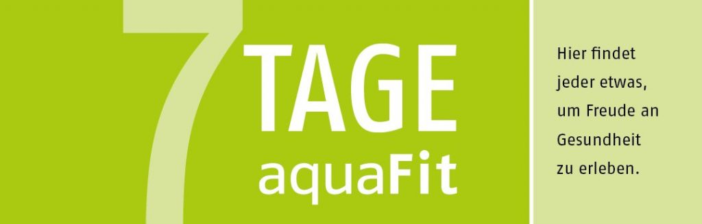 Fitness Gutschein für das aquaFit Fitnessstudio Hannover